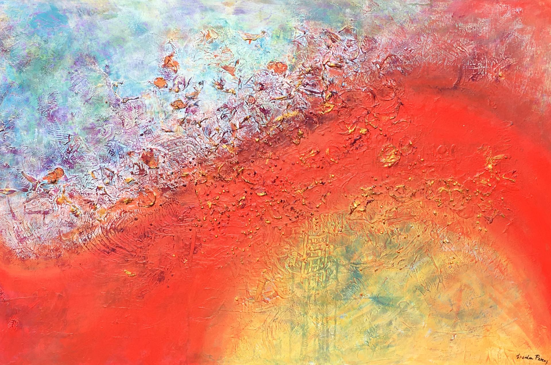 Arc-en-Ciel Artists Leda Risse Painting Fabled Gallery https://fabledgallery.art/product/arc-en-ciel/