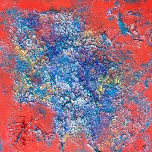 Poisson bleu dans la mer Rouge Artists Leda Risse Painting Fabled Gallery https://fabledgallery.art/product/poisson-bleu-dans-la-mer-rouge/
