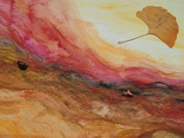 Autumn River Artists Céline Annen Painting Fabled Gallery https://fabledgallery.art/product/autumn-river/
