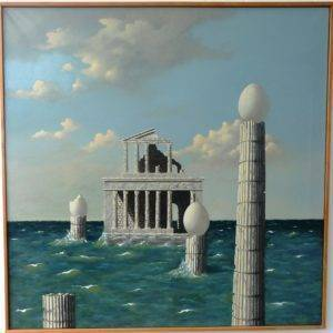 Carthage Artists Liliane Piovano Painting Fabled Gallery https://fabledgallery.art/product/carthage/